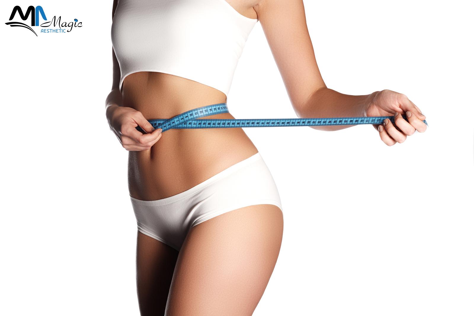 الفرق بين شفط الدهون و شد البطن